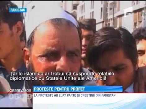 Ambasadele franceze si americane vor fi inchise de Ziua Profetului in 20 de tari musulmane