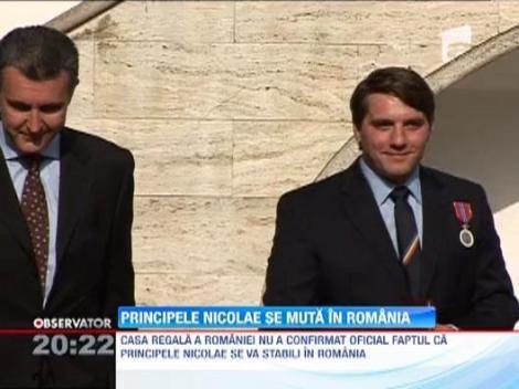 Printul Nicolae, nepotul Regelui Mihai, se muta in Romania