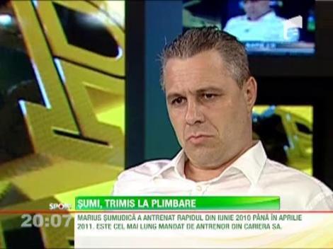 """Copos: """"Sumudica nu are loc la Rapid"""""""