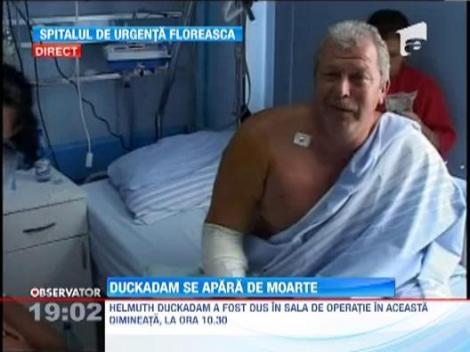 "Surse medicale: ""Lui Duckadam i s-a descoperit si o tumora la glanda tiroida"""