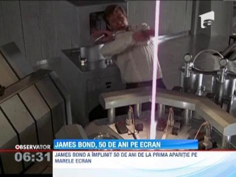 James Bond a implinit 50 de ani de la aparitia pe marile ecrane