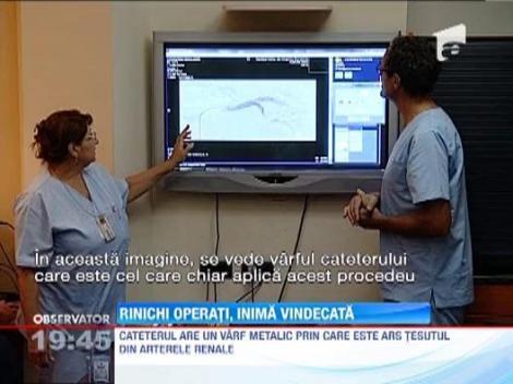 Minune chirurgicala: Operatie la rinichi pentru a vindeca problemele cardiovasculare