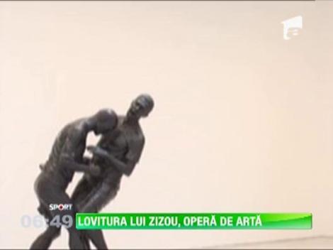 Lovitura lui Zidane din finala Cupei Mondiale, opera de arta