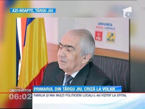Primarul din Targu Jiu, Florin Carciumaru, criza la volan