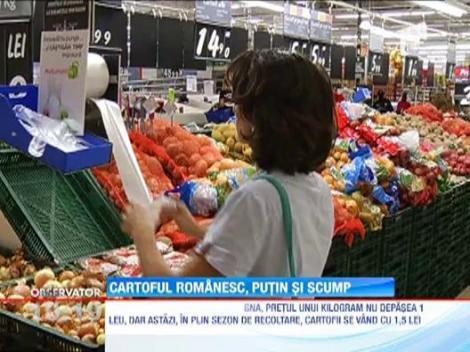 Agricultorii vor creste pretul la cartofi, dupa recolta dezastruoasa din 2012
