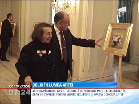 Doliu in lumea artei! Pictorita Aurelia Paunescu s-a stins din viata