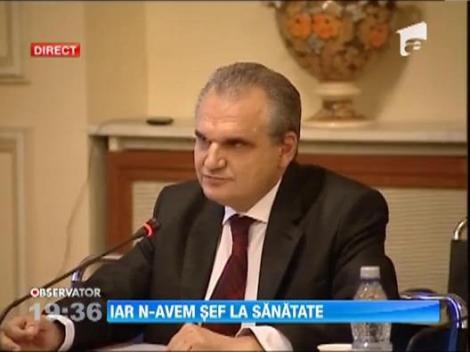 Vasile Cepoi a demisionat din functia de ministru al Sanatatii