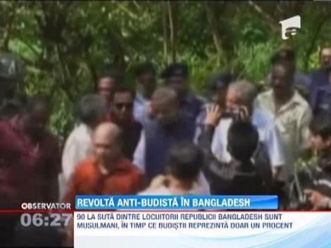 Revolta anti-budista in Bangladesh. Mai multe temple, incendiate