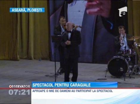 Spectacol si poezie la Ploiesti: Ion Luca Caragiale, readus la viata de Tudor Gheorghe