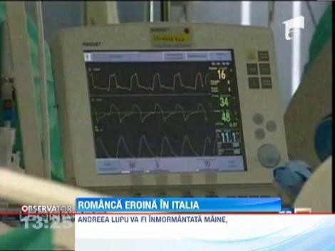 O romanca, eroina in Italia: Si-a donat organele pentru a salva opt oameni