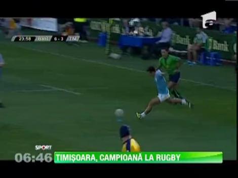 Timisoara este noua regina a rugby-ului romanesc!