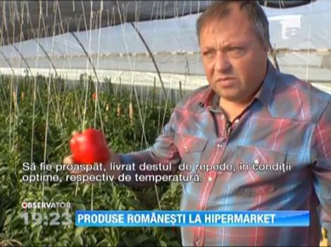 """Ministrul Agriculturii vrea un """"colt"""" pentru produsele romanesti in fiecare hypermarket"""
