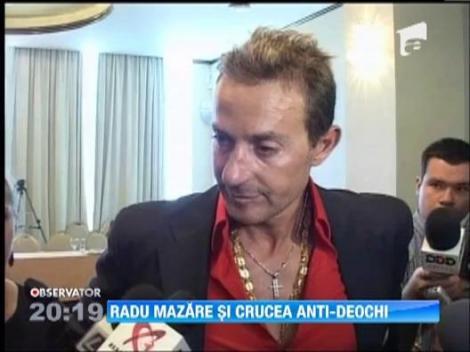 Radu Mazare, cu o cruce de o palma la gat