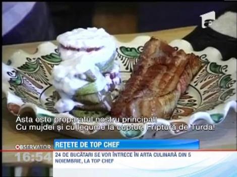 VIDEO. Reteta savuroasa a la Top Chef: Friptura de Turda