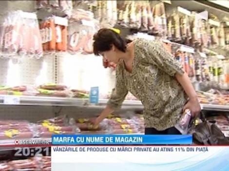 Produsele marca proprie a magazinelor, alegerea pe timp de criza a tot mai multi romani