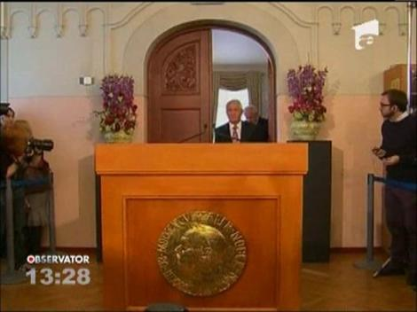 Premiul Nobel pentru Pace 2012, acordat Uniunii Europene