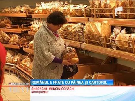 Romania, pe primul loc in Europa in ceea ce priveste consumul de produse de panificatie