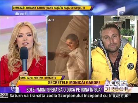 """Catalin Botezatu: """"Monica plange si acum dupa Irina. Spera sa-si aduca fetita in SUA"""""""