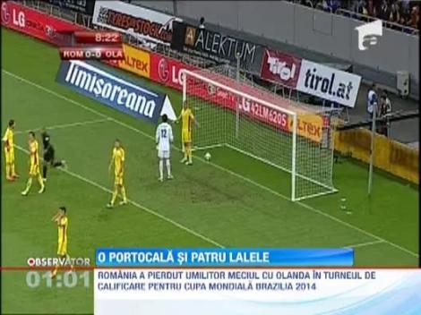 VIDEO! Romania - Olanda 1-4/ Am revenit cu picioarele pe pamant