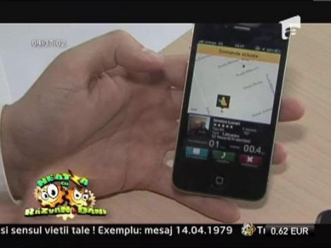Totul despre aplicatia pentru mobil care iti comanda taxiul