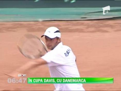 Romania va intalni Danemarca in Cupa Davis