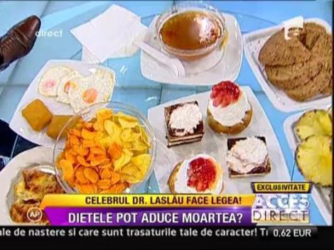 Celebrul Doctor Andrei Laslau a slabit cu o dieta bazata pe grasimi!