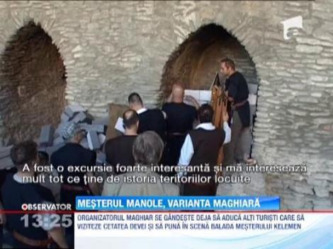 Legenda Mesterul Manole, varianta maghiara