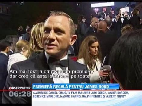"""Londra: A avut loc premiera noului film din seria James Bond, """"Skyfall"""""""