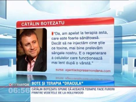 Catalin Botezatu a apelat la terapia Dracula, sfatuit de La Toya Jackson