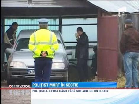 UPDATE /  Seful Politiei Rutiere din Abrud s-a impuscat in cap cu arma din dotare