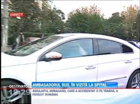 Tanara lovita de un diplomat, vizitata de ambasadorul rus