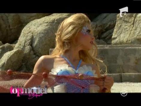 Mor pestisorii de placere: Concurentele de la Next Top Model s-au transformat in sirene sexy!