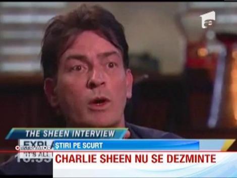 Charlie Sheen cheltuie 2000 de dolari in fiecare zi pentru droguri