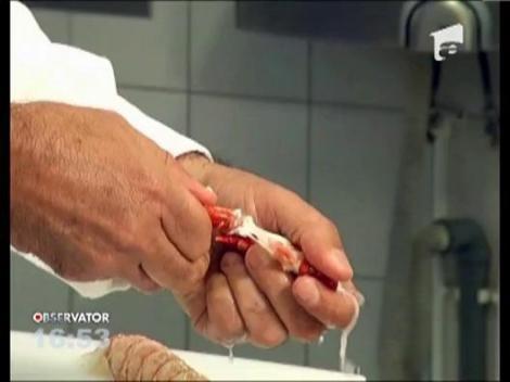 Chef Hadad a pregatit pentru familia Clinton somon gatit la abur cu salata si prepelita cu sos de miere si fistic crocant