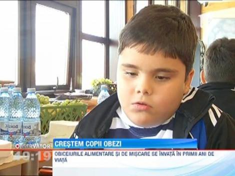 Romania are peste 15.000 de copii trecuti de pragul obezitatii