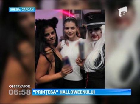 Monica Gabor, vestimentatie neinspirata de Halloween