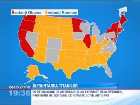 Americanii isi aleg astazi presedintele! Obama si Mitt Romney, la egalitate