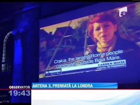 Antena 3, premiata la Londra