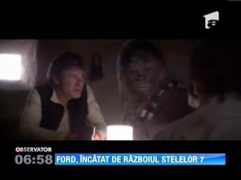 """Harrison Ford, rol de 10 milioane de dolari in """"Razboiul Stelelor 7"""""""