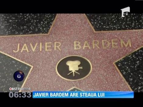 Javier Bardem a primit o stea pe Hollywood Walk of Fame