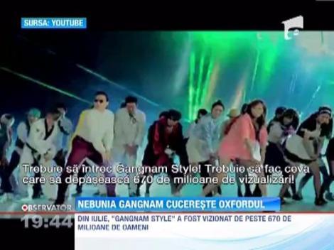 """Artistul care a lansat""""Gangnam Style"""" a devenit profesor la Oxford"""