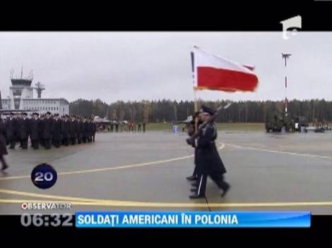Soldati americani in Polonia