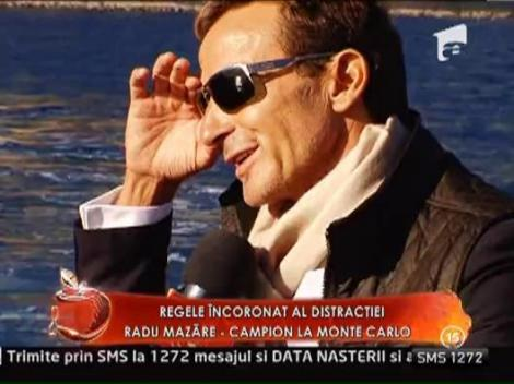 Radu Mazare, campion la Monte Carlo