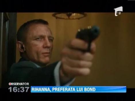 Rihanna, preferata lui Bond