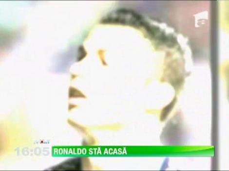 Cristiano Ronaldo invoit de la meciul cu Gabon