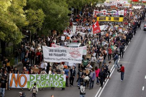 Ziua furiei in Europa: Valuri de proteste anti-austeritate in Portugalia, Spania, Italia si Grecia