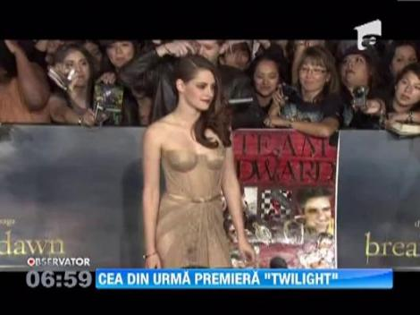 Kristen Stewart si Robert Pattinson, pentru prima data impreuna pe covorul rosu
