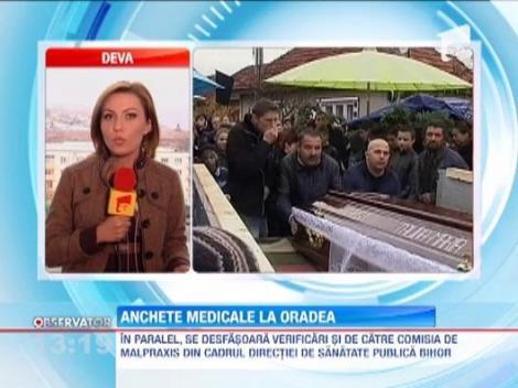 Anchete medicale la Oradea