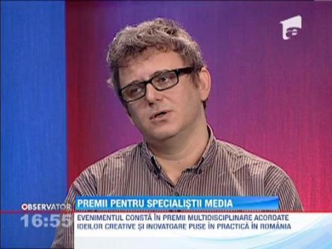 Premii pentru specialistii media