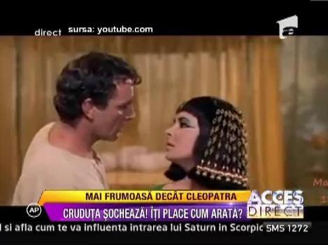 Daniela Crudu, mai frumoasa decat Cleopatra